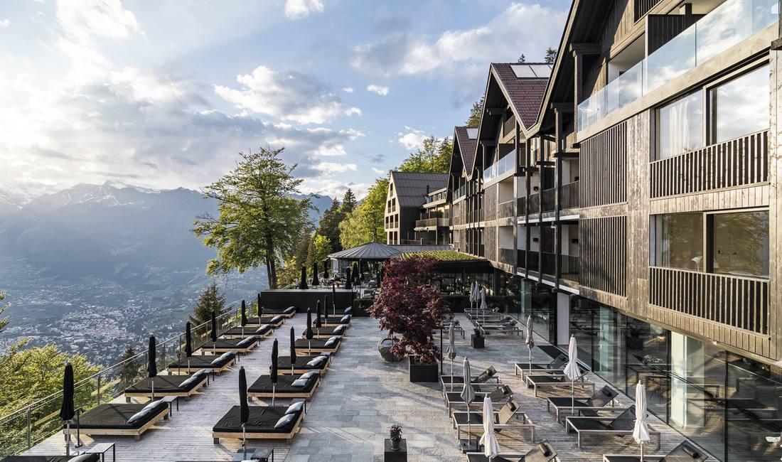 architettura montagna hotel miramonti