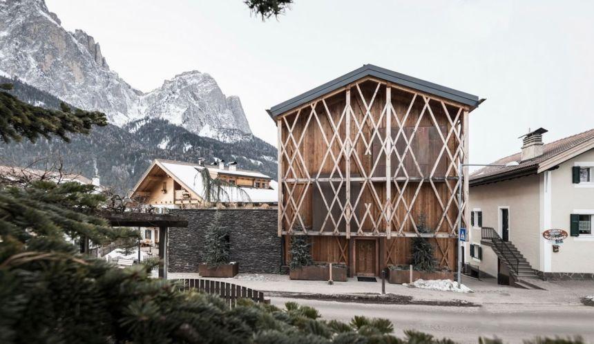 architettura montagna - Messner Haus